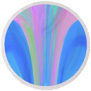 The Fairytale Round Beach Towel