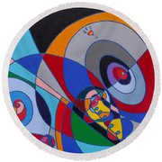 The Force Round Beach Towel