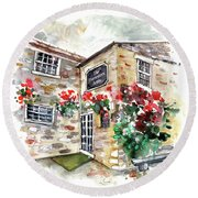 The Forresters Arms In Kilburn Round Beach Towel