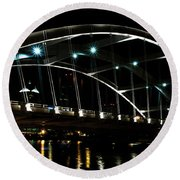 The Freddie-sue Bridge Round Beach Towel