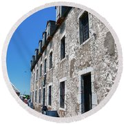 The French Castle 6664 Round Beach Towel