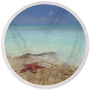 The Gate Keepers Round Beach Towel