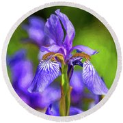 The Gentleness Of Spring 4 - Paint Round Beach Towel