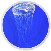 The Ghost In The Water Round Beach Towel