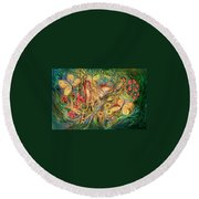 The Glade Round Beach Towel