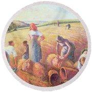 The Gleaners Round Beach Towel