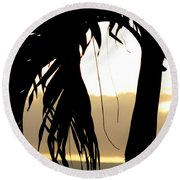 The Glow Of Maui Round Beach Towel