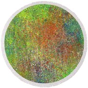 The God Particles #544 Round Beach Towel