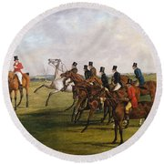 The Grand Leicestershire Steeplechase, March 12, 1829  The Start Round Beach Towel