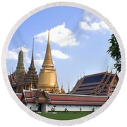 The Grand Palace Round Beach Towel