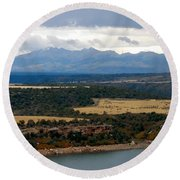 The Great Basin Round Beach Towel