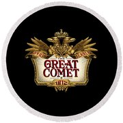 The Great Comet Round Beach Towel