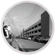 The Great Mall Round Beach Towel