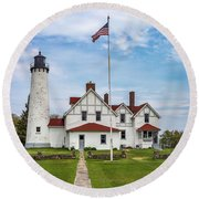 The Guardian Ff Round Beach Towel