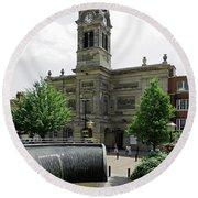 The Guildhall - Derby Round Beach Towel