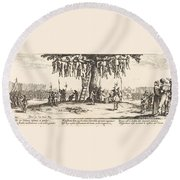 The Hanging Round Beach Towel