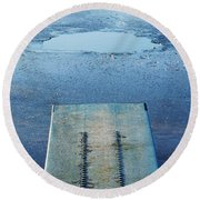 The Hole Round Beach Towel