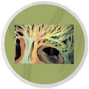 The Hollow Round Beach Towel