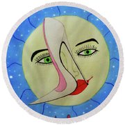 The Holography Round Beach Towel