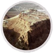 The Holy Land: Masada Round Beach Towel