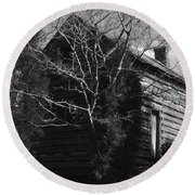 The Homestead Round Beach Towel by Richard Rizzo