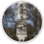 The Howie Carillon Round Beach Towel