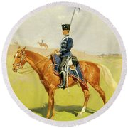 The Hussar Round Beach Towel