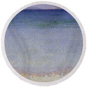 The Iles Dor Round Beach Towel
