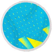 The Illusion Round Beach Towel