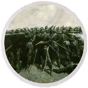The Infantry Square Round Beach Towel