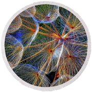 The Inner Weed 2 Round Beach Towel