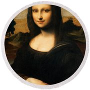 The Isleworth Mona Lisa Round Beach Towel