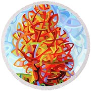 The Jester Round Beach Towel