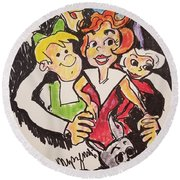 The Jetsons Round Beach Towel