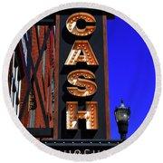 The Johnny Cash Museum - Nashville Round Beach Towel