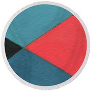 The Joy Of Design X L V I I Part 2 Round Beach Towel