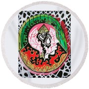 The Knowing  Round Beach Towel