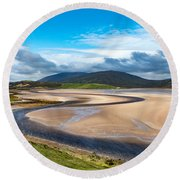 The Kyle Of Durness Round Beach Towel