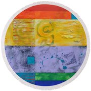 The Last Letter Round Beach Towel
