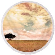 The Learning Tree Round Beach Towel