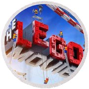 The Lego Movie Round Beach Towel