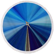 The Light Fantastic Speedway Round Beach Towel