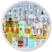 The Liquor Cabinet Round Beach Towel