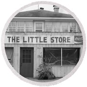 The Little Store Round Beach Towel