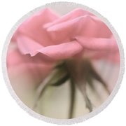 The Lonesome Rose Round Beach Towel