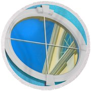 The Looking Glass Round Beach Towel
