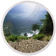 The Lost Coast - Sinkyone Wilderness Round Beach Towel