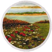 The Lowlands Round Beach Towel