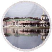 The Manor Of Kuskovo, Moscow Round Beach Towel