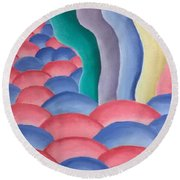 The March Round Beach Towel